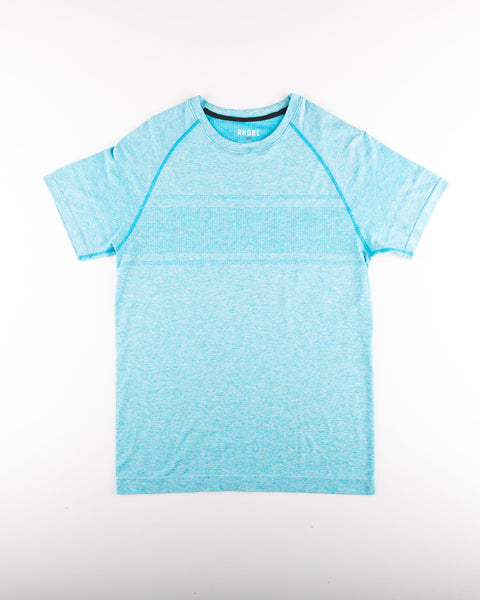 Method Seamless Short Sleeve - Chlorine Heather