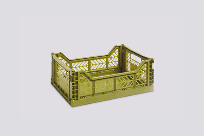 Colour Crate, Medium - Olive
