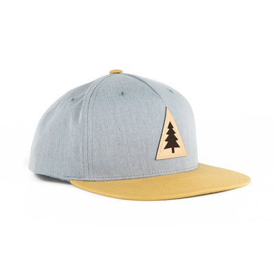 Ponderosa Hat - Heather Grey/Biscuit