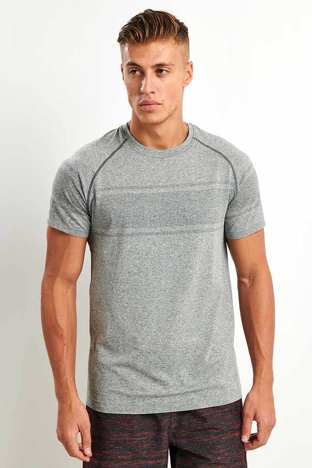 Method Seamless Short Sleeve - Asphalt Heather