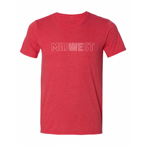 NEW! Midwest Tee - Red