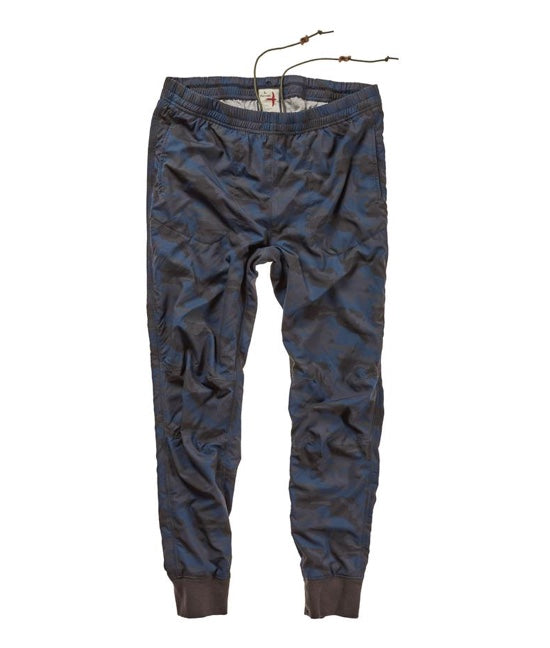 Sprint Stretch Windpant - Char/Blue Camo