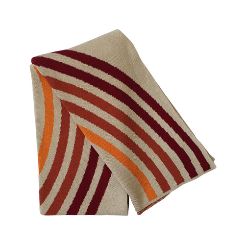 Reverb Throw - Pomegranate/Terracotta/Flame