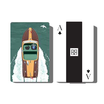 Classic Boat I -  Playing Cards