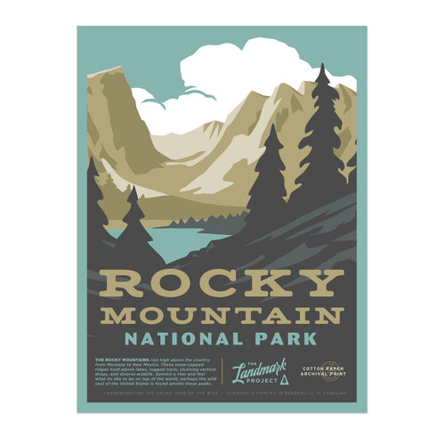 Poster - Rocky Mountains