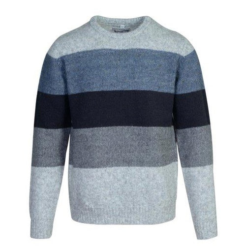 Colorblock Pullover Sweater - Multicolor
