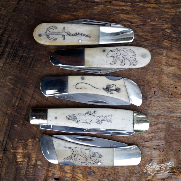 Scrimshaw Knife Kit