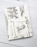Hardcover Notebook - Skeleton