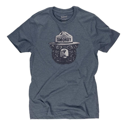 T-Shirt - Smokey Bear Logo - Mantatee