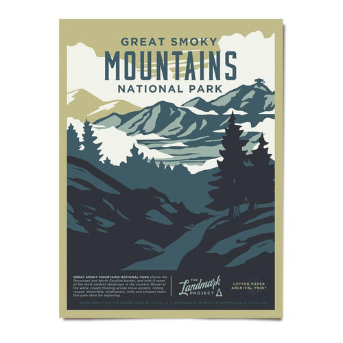 Poster - Great Smoky Mountains