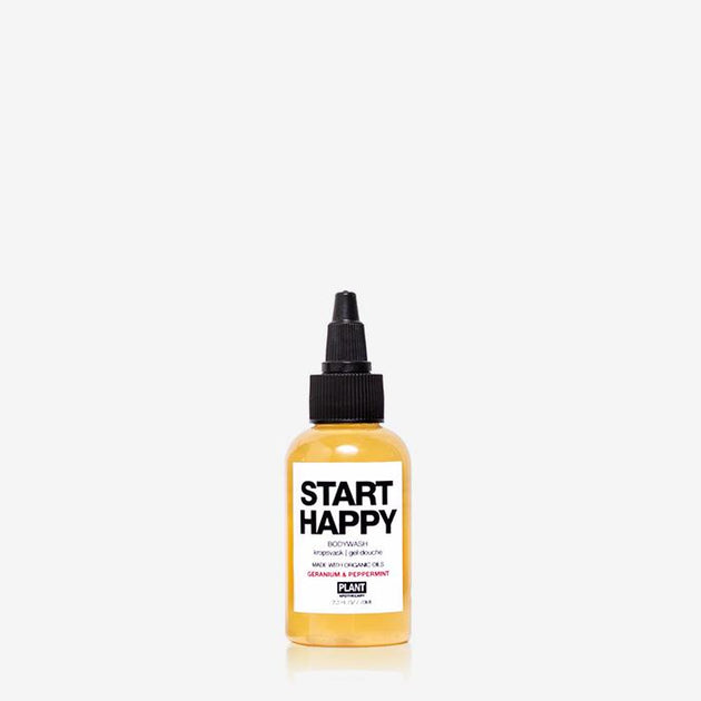 Start Happy Organic Body Wash - Travel Size