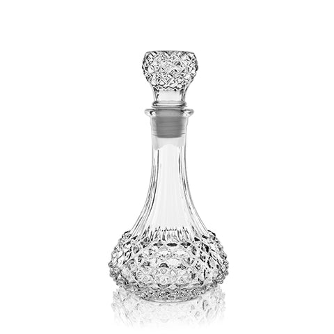 Studded Glass Decanter, 22 oz.