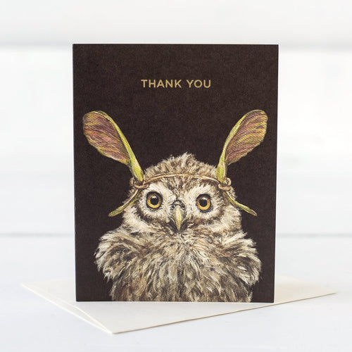 Card - Thank You Owl
