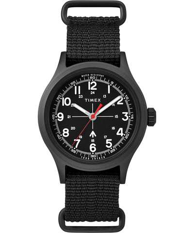 Timex x Todd Snyder Military Inspired 40mm Watch - Black