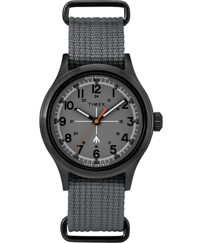 Timex x Todd Snyder Military Inspired 40mm Watch - Grey