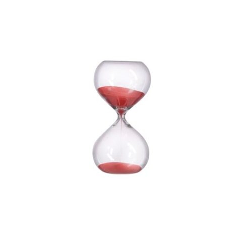 Small Hourglass (30 minutes) - Red