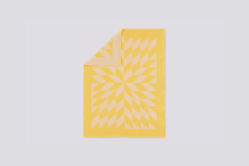 Star Blanket - Yellow