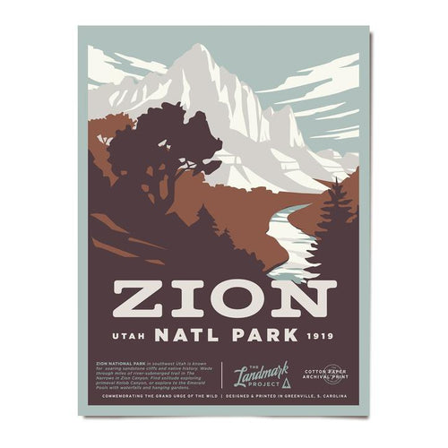 Poster - Zion