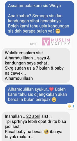 Jamu Zuriat Testimonial from Muslim Valley