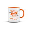 Islamic Quotes Mug - English (C01E-Orange)