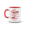 Islamic Quotes Mug - English (C01E-Red)