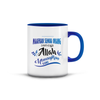 Islamic Quotes Mug - Malay (C02M-Blue)