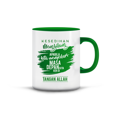 Islamic Quotes Mug - Malay (C02M-Green)