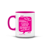 Islamic Quotes Mug - Malay (C02M-Pink)