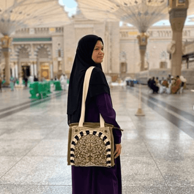 Nabawi Sajda with Tote Bag (Green)
