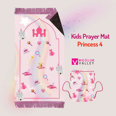 Kids Prayer Mat - Princess 4