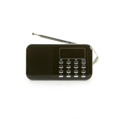 Al-Quran MP3 with FM Radio - Black