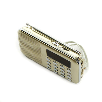 Al-Quran MP3 with FM Radio - Gold
