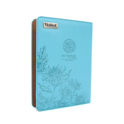 Al-Quran Tagging Exclusive Zip - A5 Size Turquoise