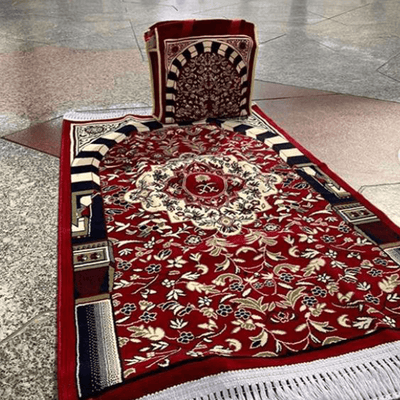 Nabawi Sajda with Tote Bag (Red)