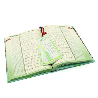 Al-Quran Noble (Word by Word With English Translation) - A5 Size Green