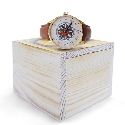 Limited Edition Nusantara Wristwatch - Rich Gold