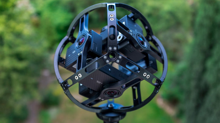 BIVROST camera rig 360 video Yi