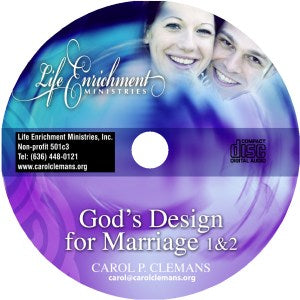 Gods Design For Marriage - Seminar CD