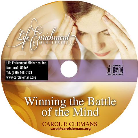 Winning the Battle of the Mind – Seminar CD