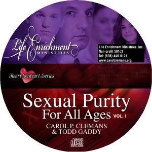 Sexual Purity for All Ages – CD (2 CD Set)