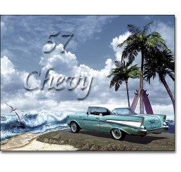 '57 Chevy Classic Car Personalized Art