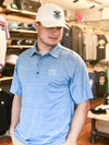 The Minnesotan Polo - Sky Blue
