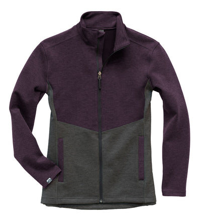 The Minnesotan Women's Luxe Interlock Full Zip