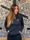 UNRL Women's Elite Half Zip- Navy