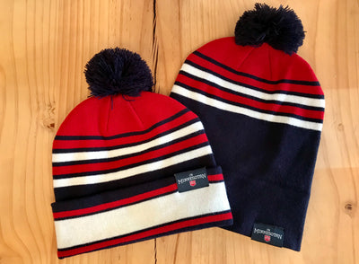 The Minnesotan Knit Beanie - Red