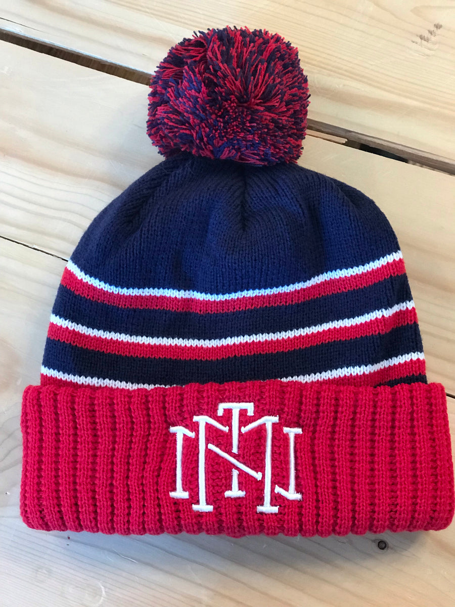 TMN Winter Knit - Red/White/Blue