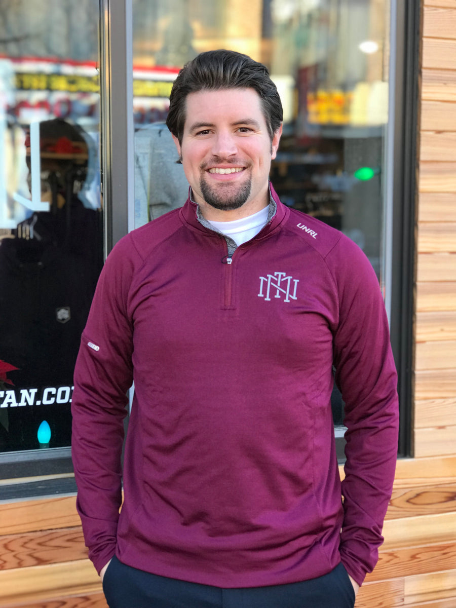 UNRL Elite Quarter Zip II - Maroon
