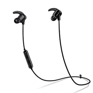 iClever Lightest Bluetooth Running Headphones with Noise Cancelling Mic, Water Resistant, In-Ear Wireless Earbuds, Bluetooth 4.1 for Sports, Black - 915ers™ x Get-Refer™