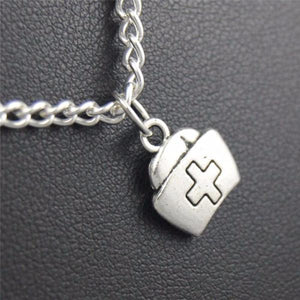 Nurse Cap Necklace