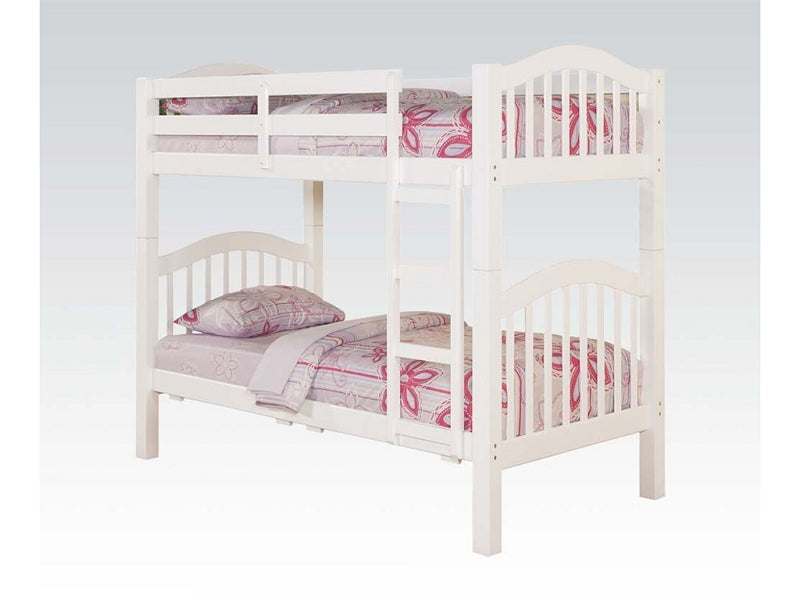 HEARTLAND WHITE T/T BUNK BED 02354A